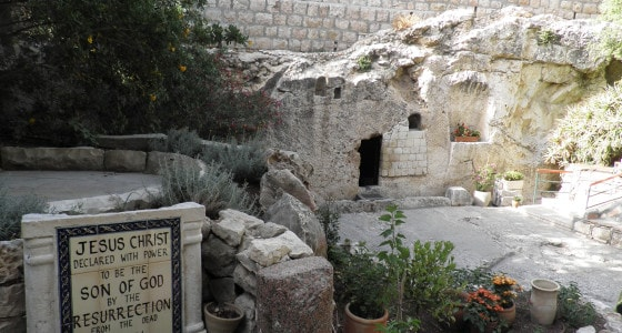 israel tours from South Africa garden tomb