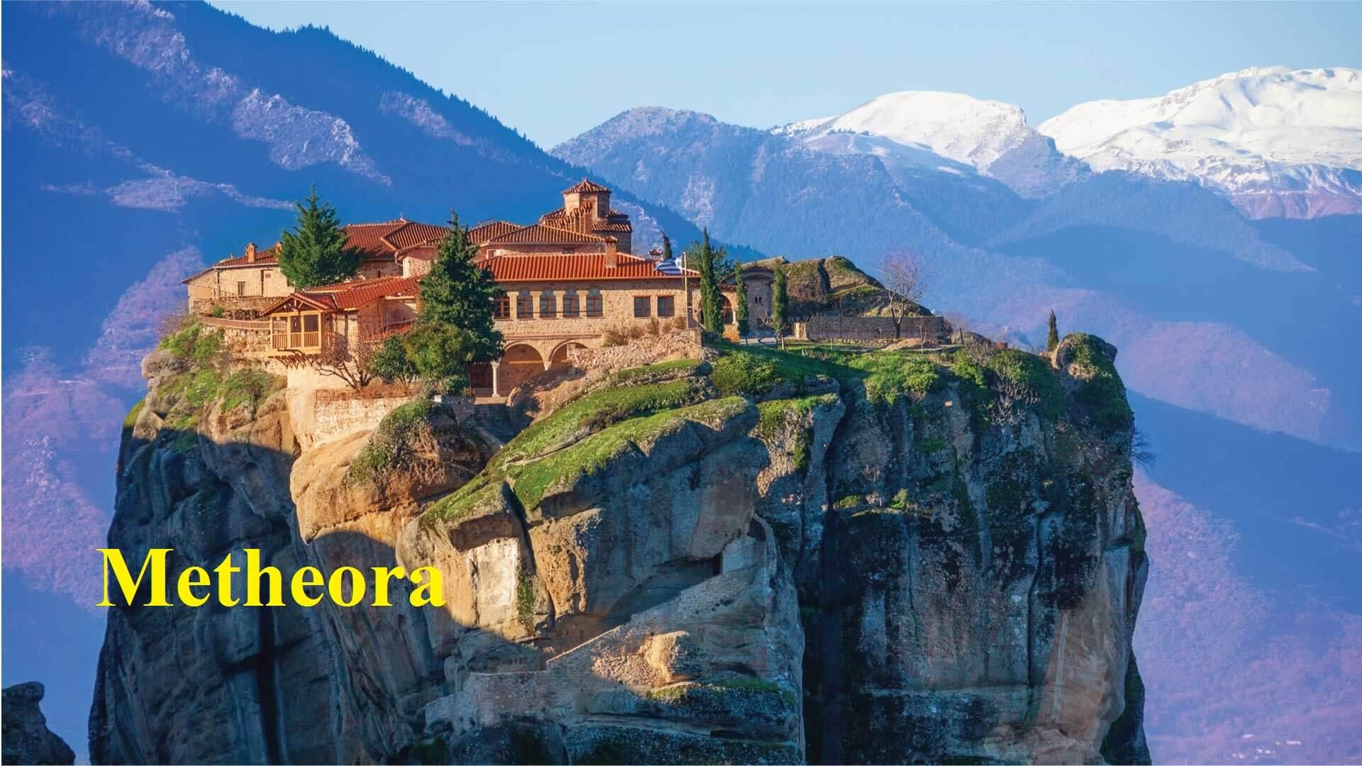 Greece tours & cruises Metheora