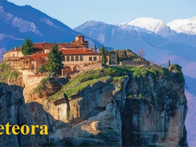 Greece tour from south africa Meteora