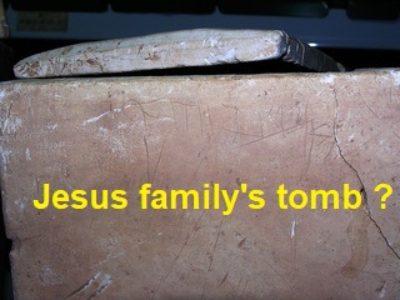 Jesus family's tomb