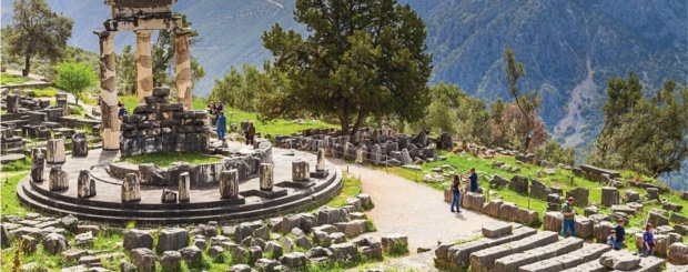 Greece tour from south africa Delphi